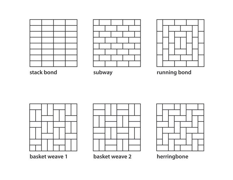 Various Patterns Ben Adams Tiling